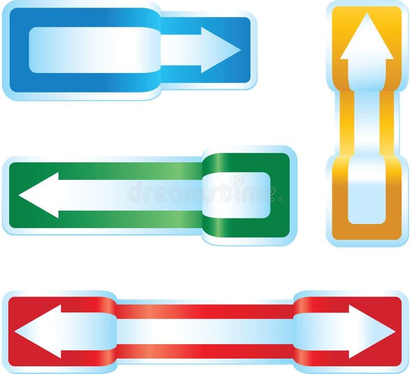 Arrow Signs stock illustration