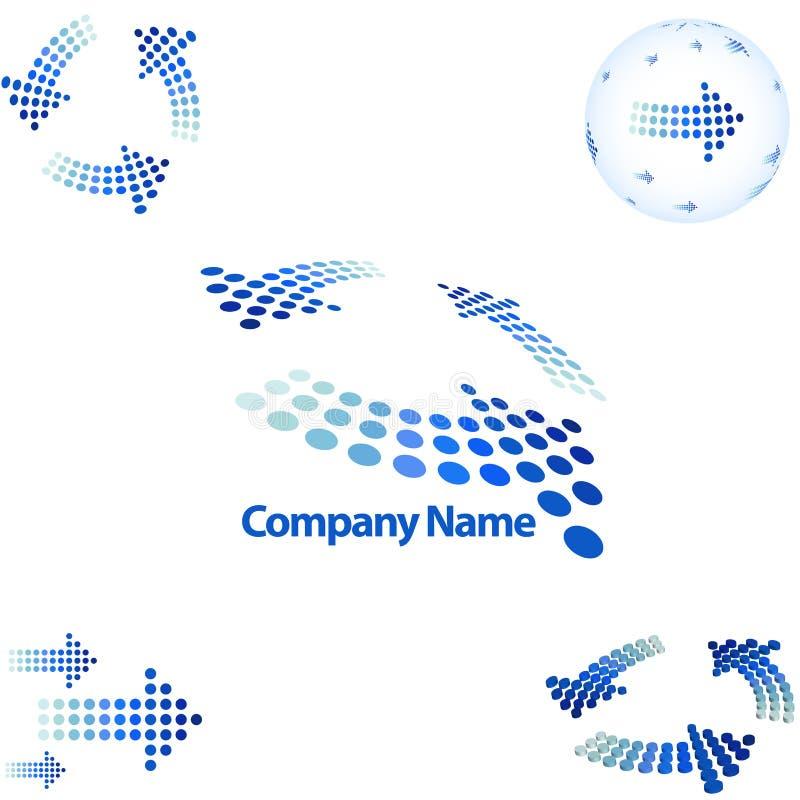 Free Arrow Style Logo Stock Image - 6547521