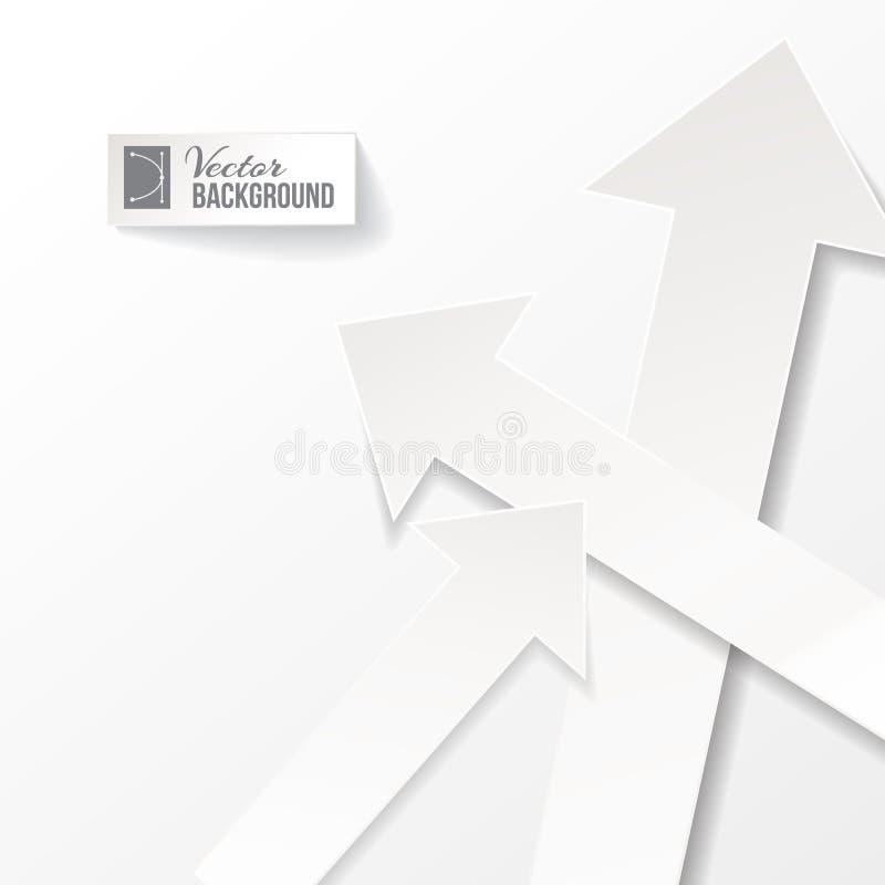 Download Arrow vector background stock vector. Image of backdrop - 30748141