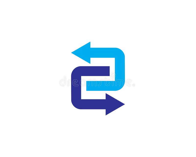 Arrow vector illustration icon. Logo Template design plus faster accurate achieved advertising arrows best business center chance choice competitive stock illustration
