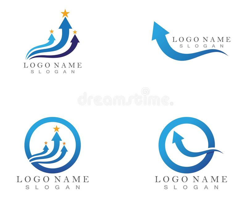 Arrow vector illustration icon Logo Template design. Arrow vector illustration icon Logo Template design plus faster accurate achieved advertising arrows best vector illustration