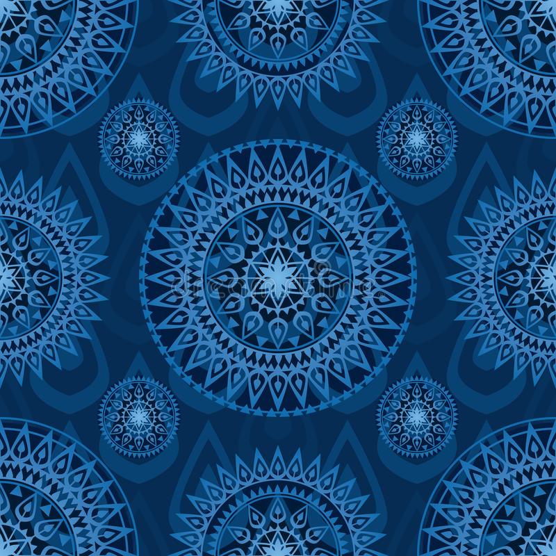 Download Arrow Weapon Mandala Seamless Pattern Stock Photo - Image: 72552630