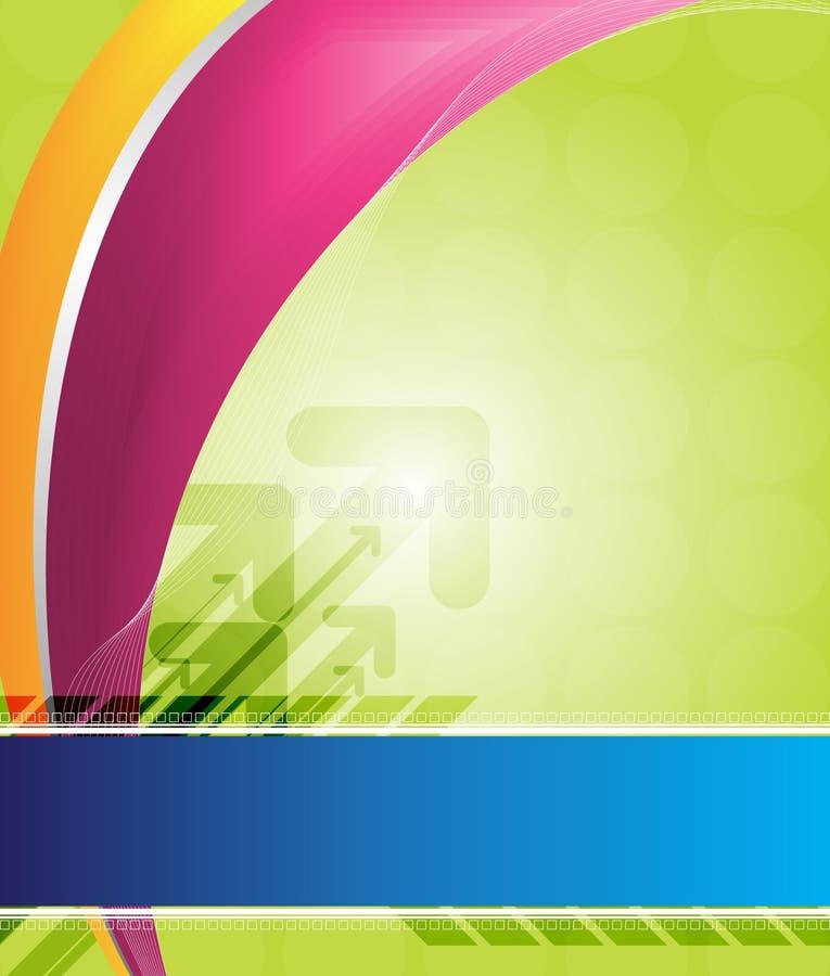 ArrowArcB ilustração stock