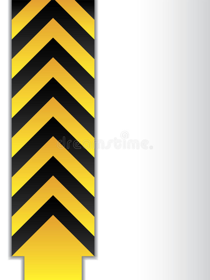 Download Arrowed Danger Sign Royalty Free Stock Photo - Image: 14125695