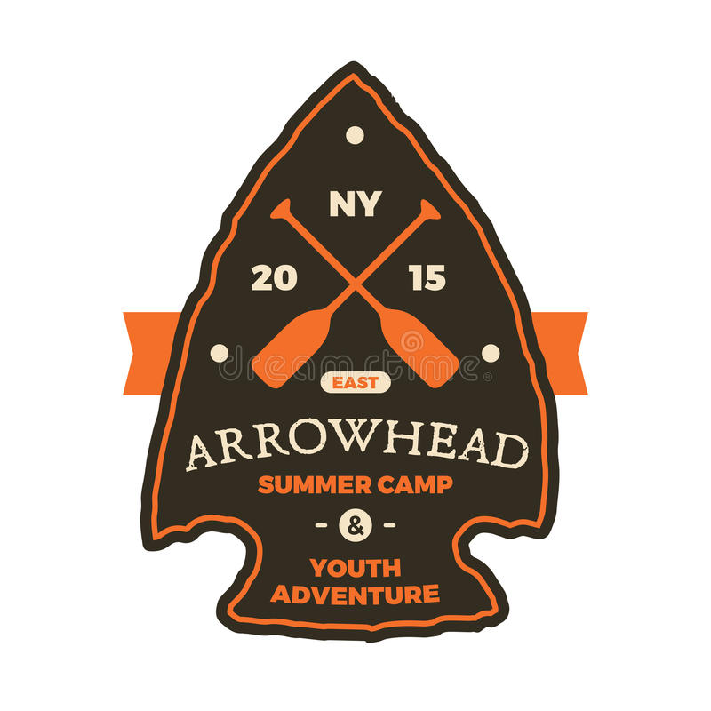 arrowhead sign stock vector illustration of drawing 54329792 rh dreamstime com arrowhead logo vector arrowhead vector art