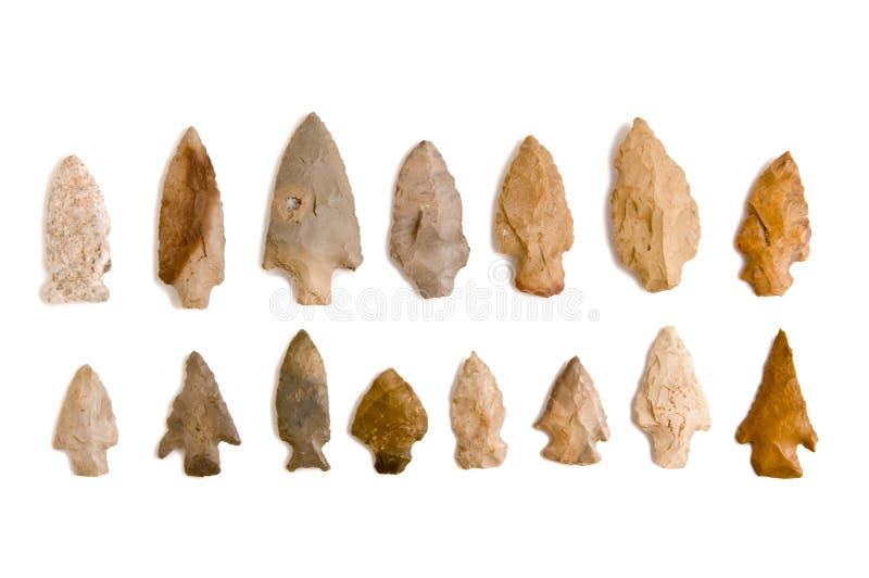 arrowheads στοκ φωτογραφίες