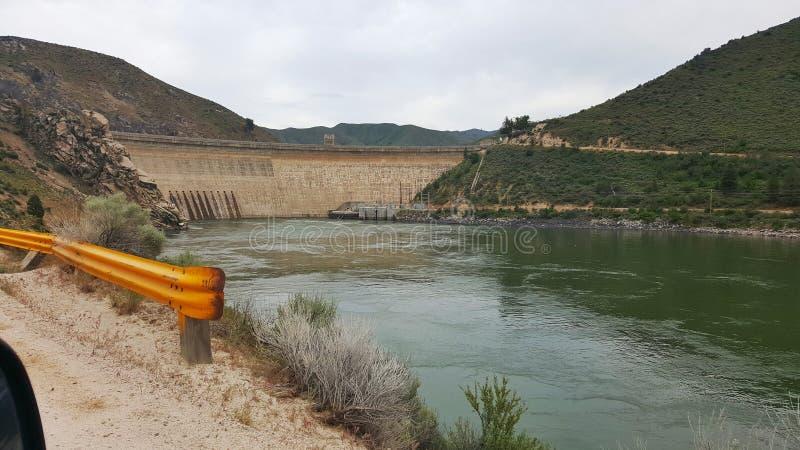 Arrowrock水坝 库存图片