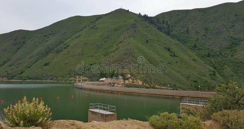 Arrowrock水坝 图库摄影