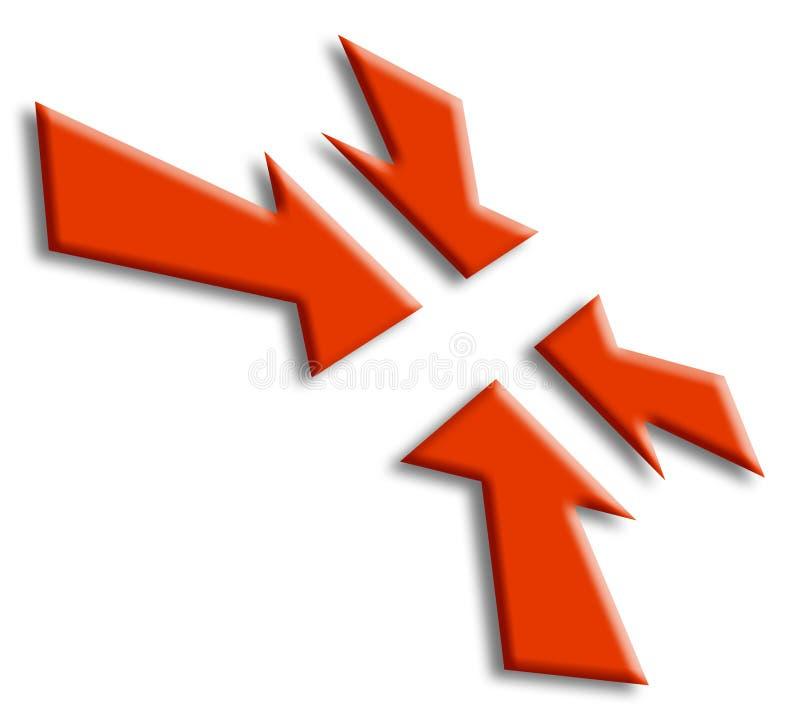 Download Arrows stock illustration. Illustration of arrow, symbol - 1342180
