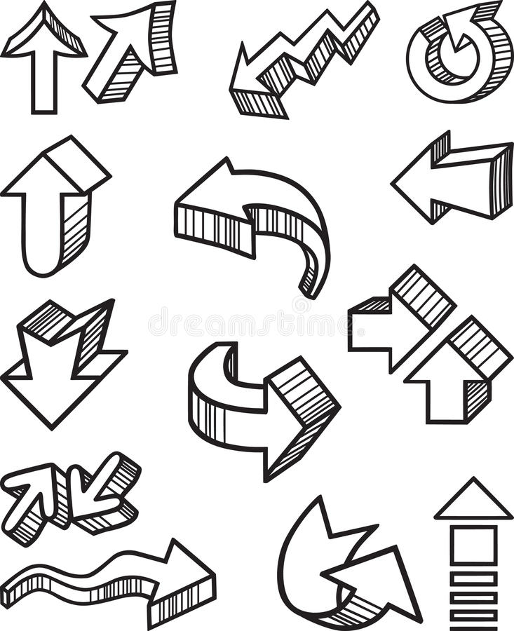 Download Arrows Royalty Free Stock Images - Image: 24994729