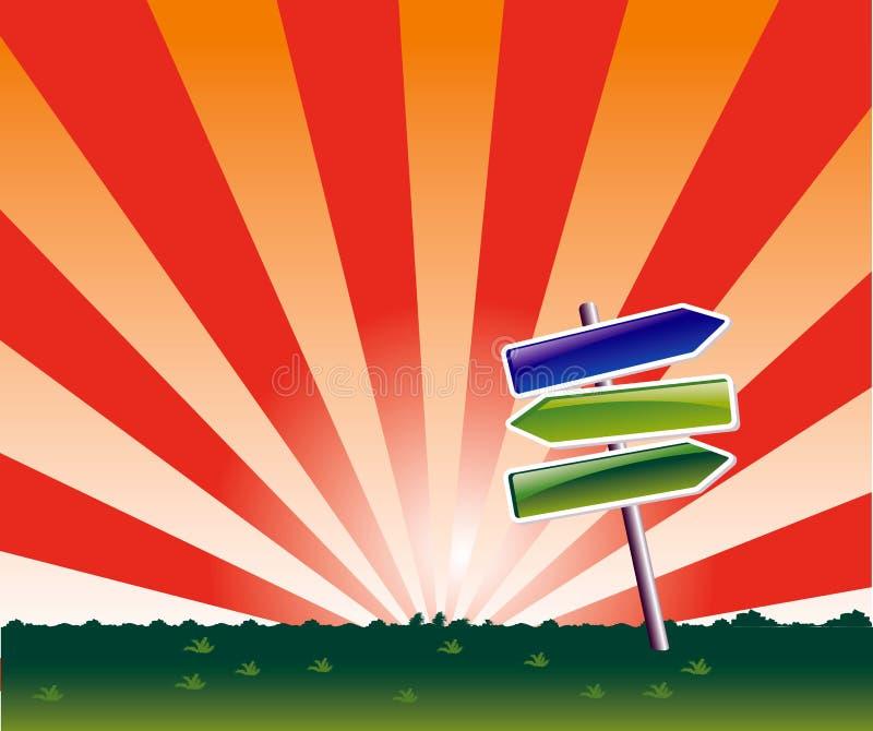 Arrows stock illustration