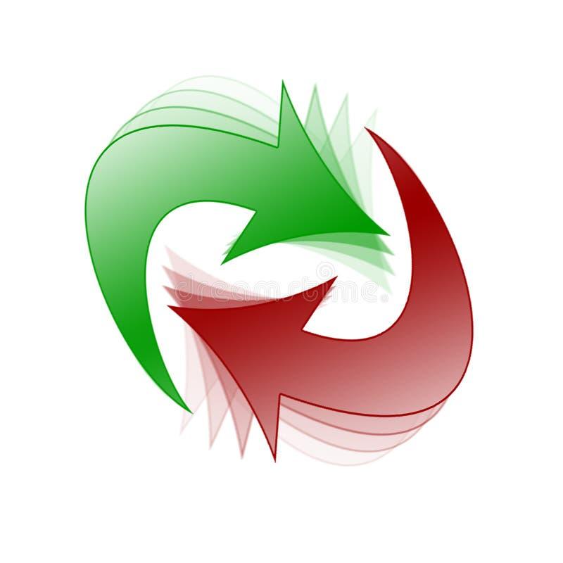 Download Arrows stock illustration. Image of symbol, loop, team, refresh - 60909