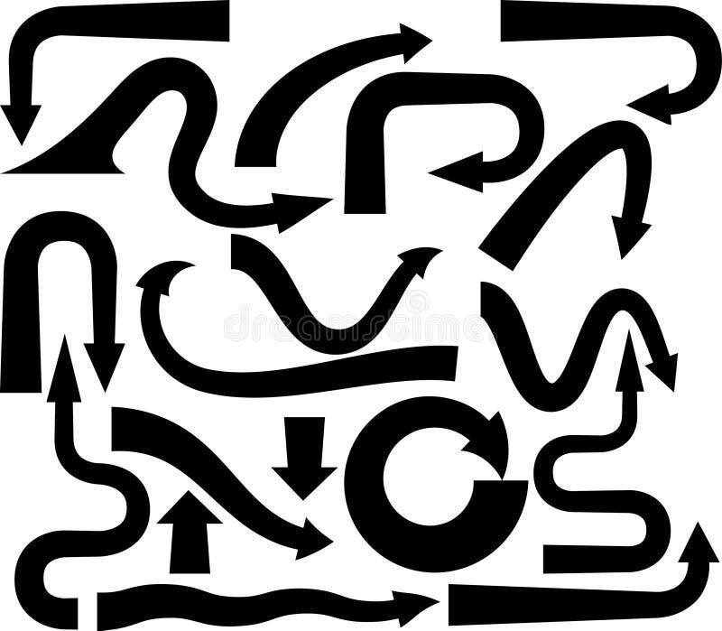 Download Arrows stock vector. Illustration of pattern, illustration - 8281186