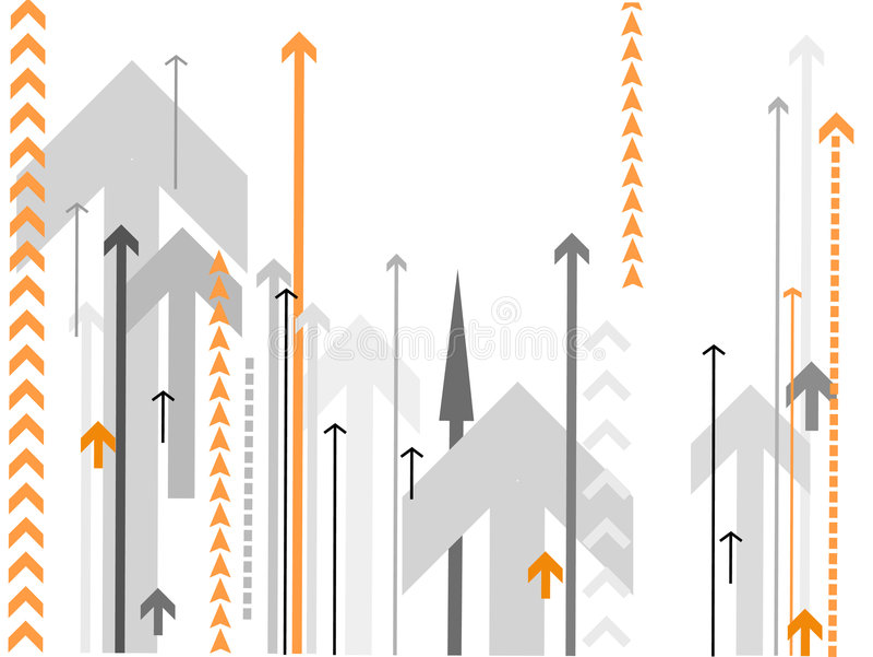 arrows background vector διανυσματική απεικόνιση