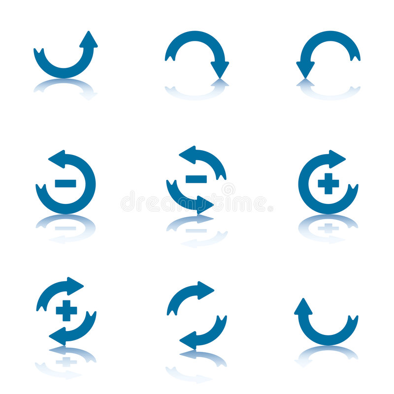 Download Arrows Collection stock vector. Image of balance, browse - 6005977