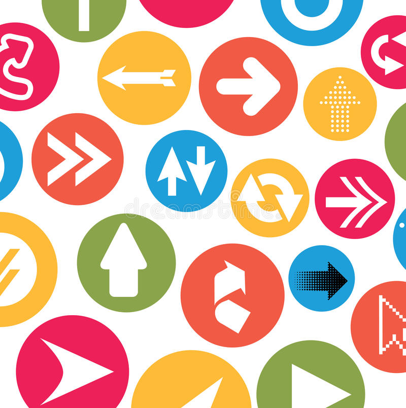 Download Arrows design stock vector. Image of diagonal, infographics - 33893992