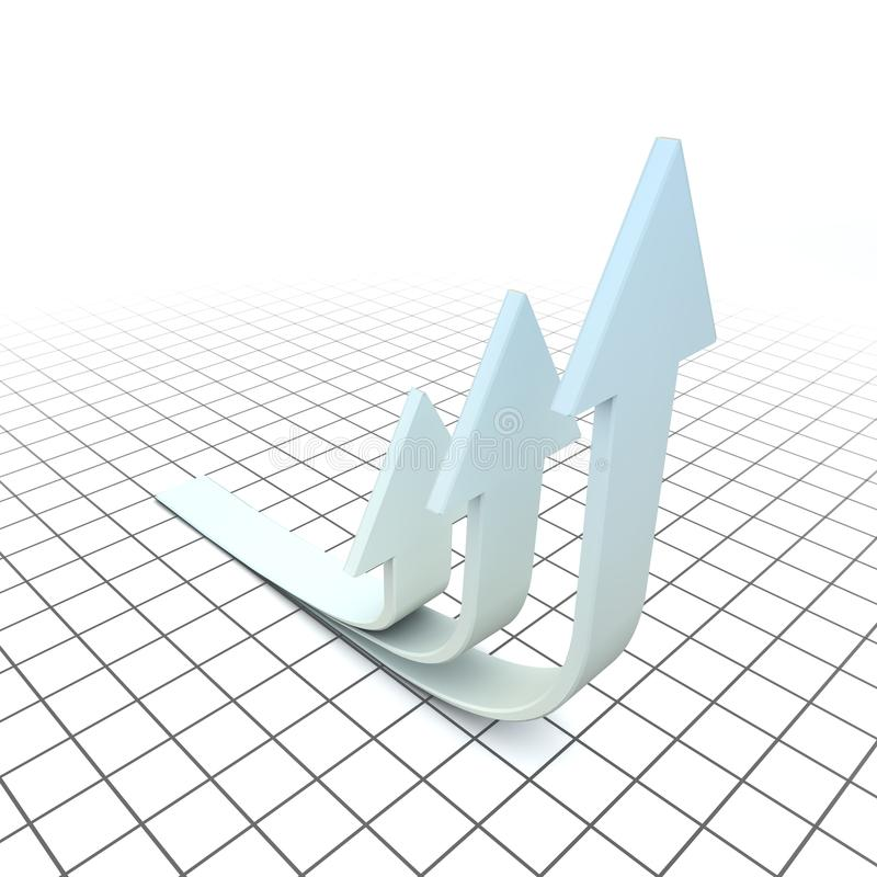 Download Arrows Of Growth Stock Image - Image: 13941401