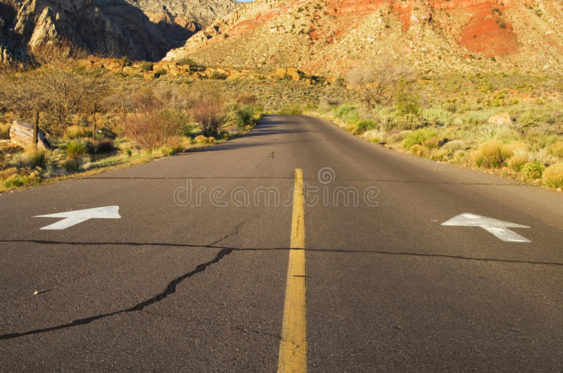 Download Arrows On Road Stock Photos - Image: 24365603
