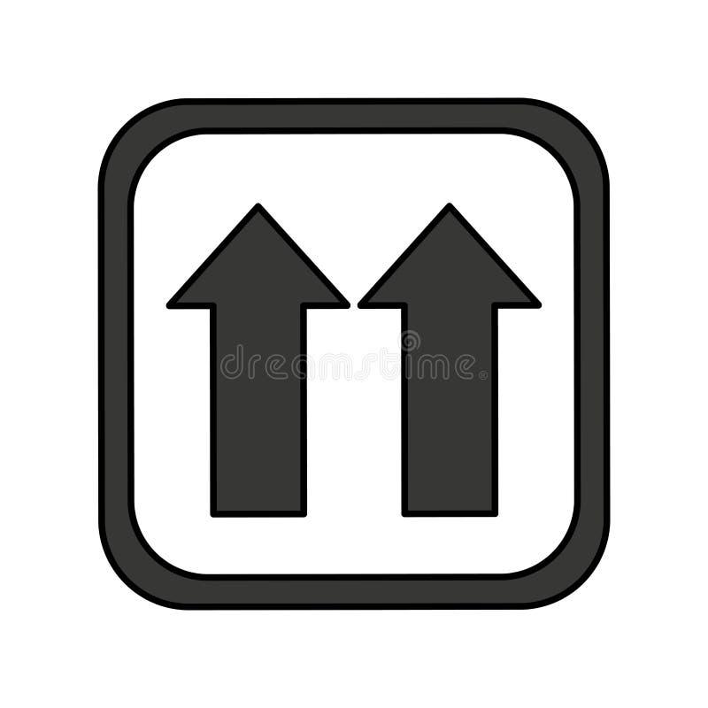 Arrows Side Up Symbol Stock Illustration Illustration Of Symbol