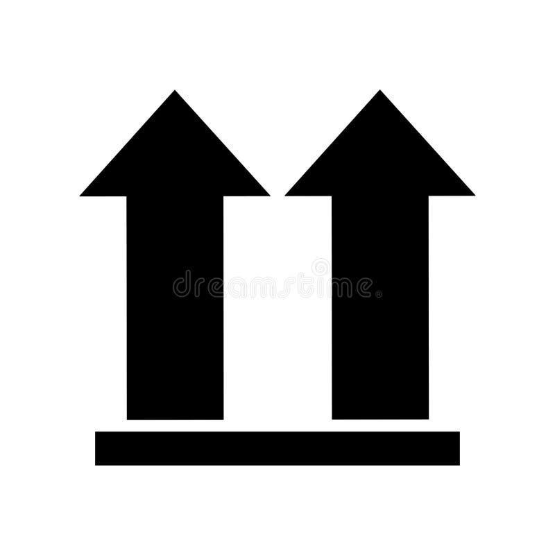 Arrows Side Up Symbol Stock Illustration Illustration Of Shipping