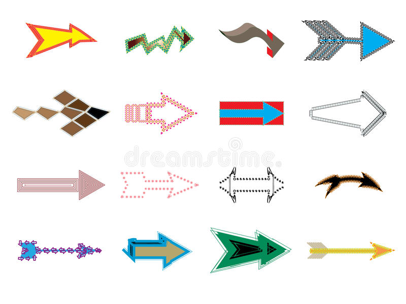 Download Arrows sign stock vector. Image of design, oils, point - 15815474