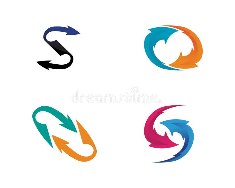 Arrows vector illustration icon Logo Template design. Plus faster accurate achieved advertising best business center chance choice competitive competitiveness vector illustration