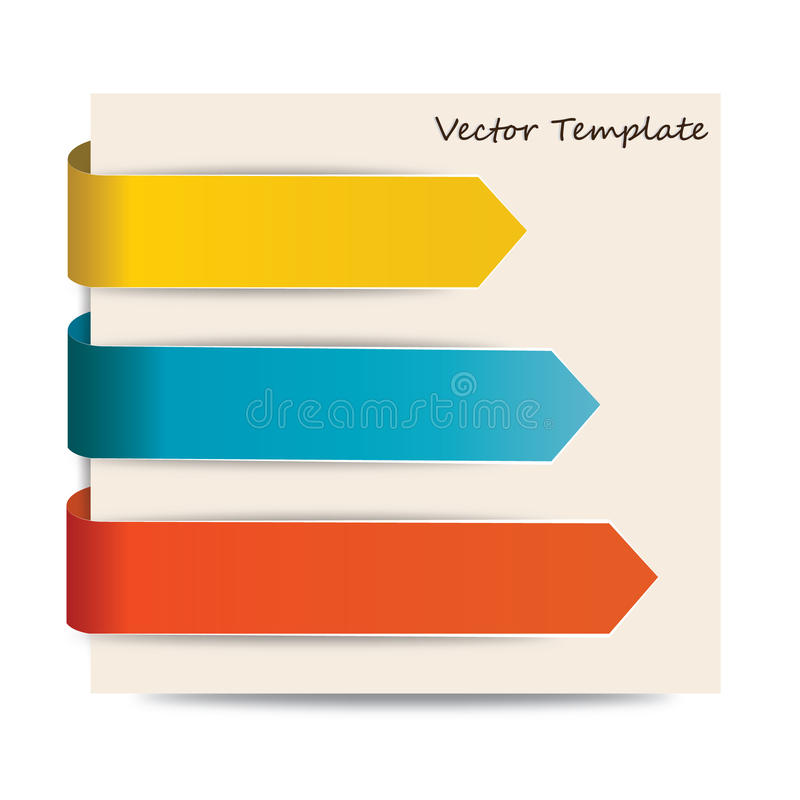 Download Arrows Vector Template stock vector. Image of blade, label - 31308400