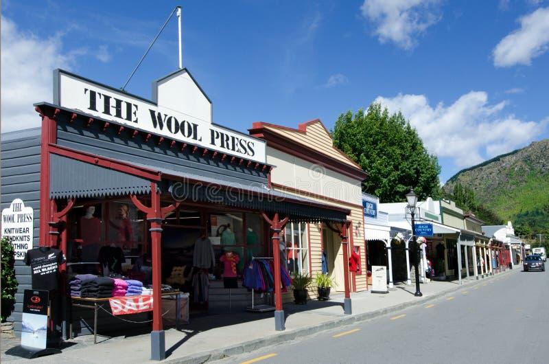 Arrowtown - Новая Зеландия стоковые фото
