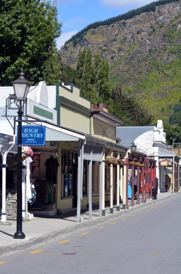 Arrowtown -新西兰 图库摄影