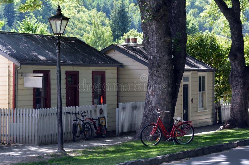 Arrowtown - la Nuova Zelanda fotografie stock