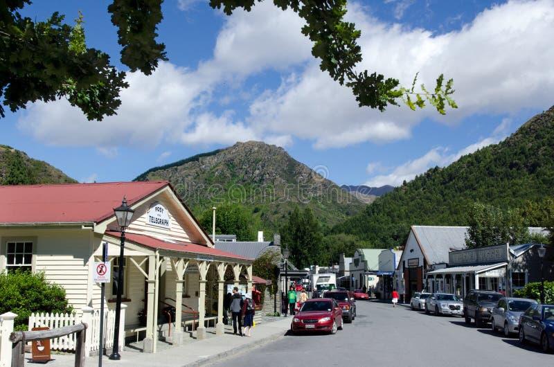Arrowtown - le Nouvelle-Zélande image libre de droits