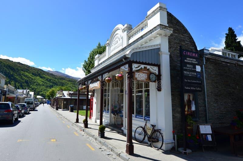 Arrowtown - Nieuw Zeeland stock fotografie