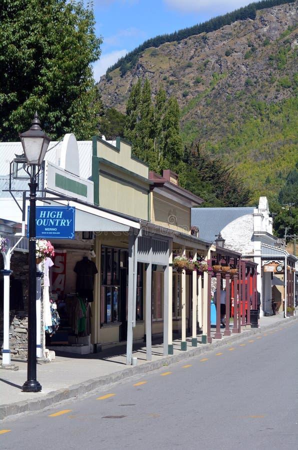 Arrowtown - Nova Zelândia fotografia de stock