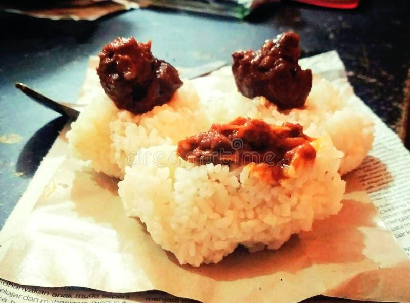 arroz do gato imagens de stock