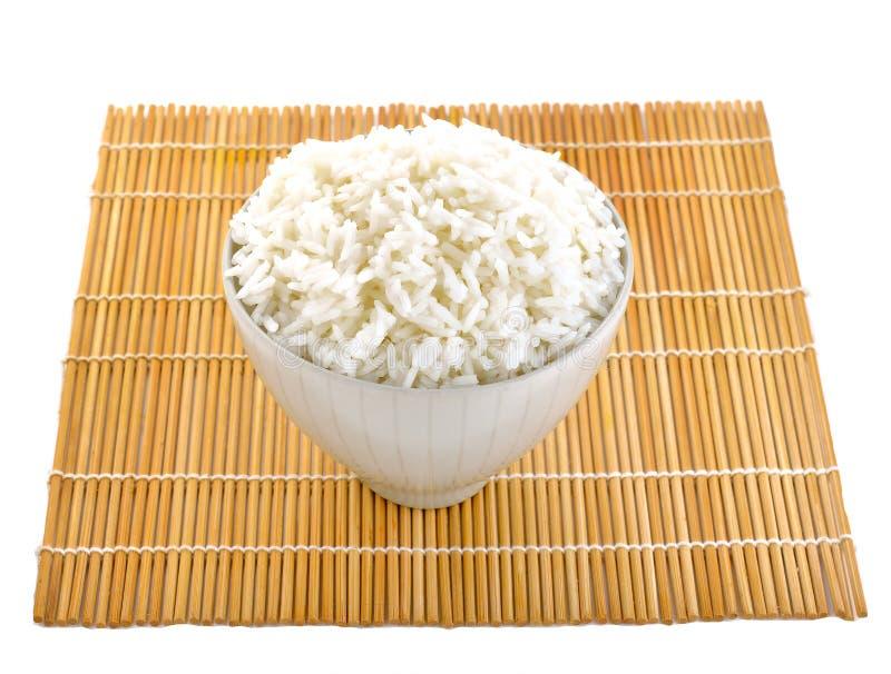 arroz en pocilga del japonés del cuenco imagenes de archivo