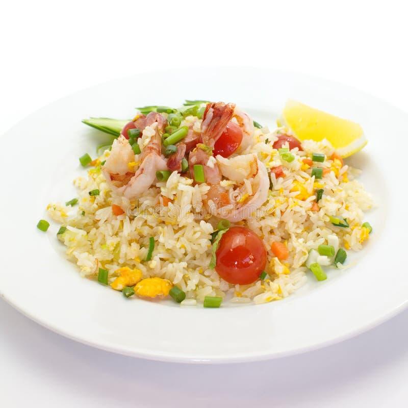 Download Arroz frito del camarón foto de archivo. Imagen de guisantes - 41905642