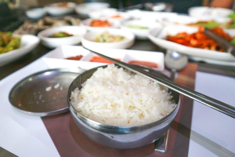 Arroz o arroz coreano fotografía de archivo