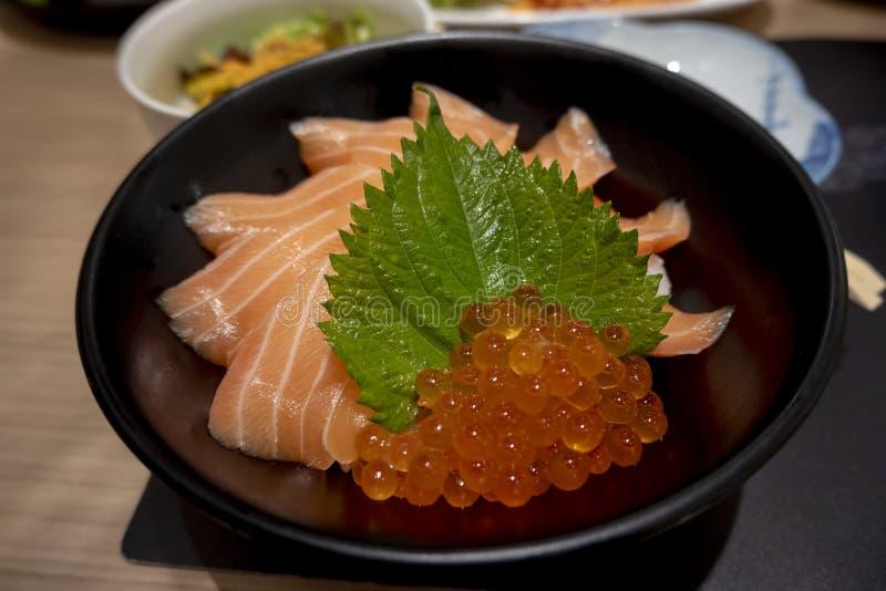 Arroz Salmon fotografia de stock royalty free