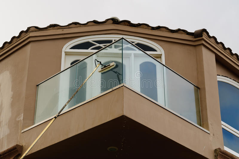 Arruela de janela foto de stock