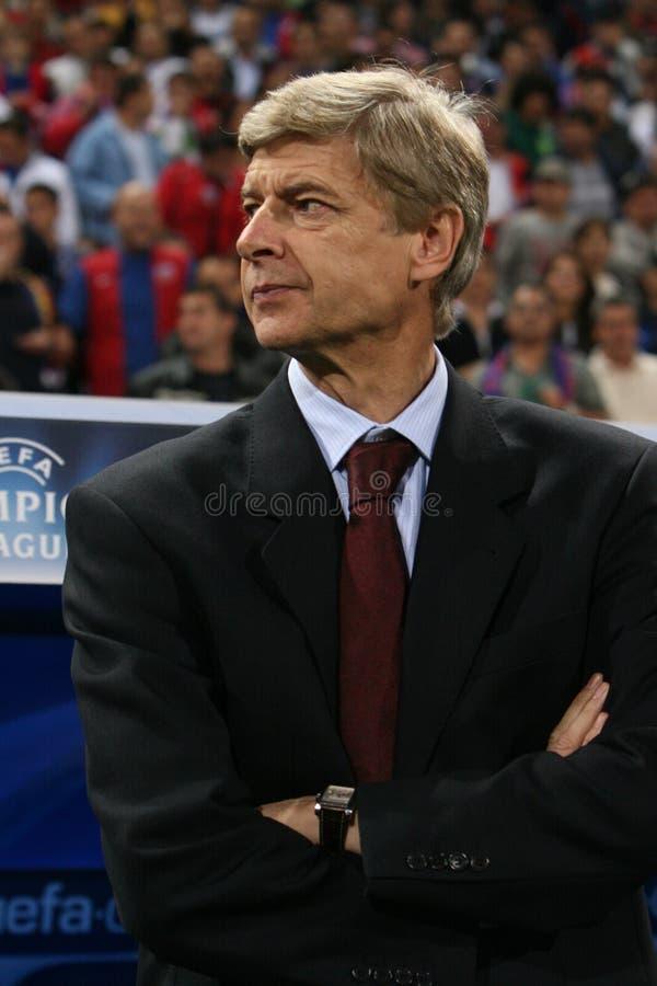 Arsène Wenger lizenzfreie stockfotos