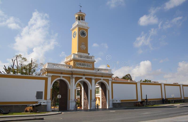 Arsenaal van Cartagena royalty-vrije stock fotografie