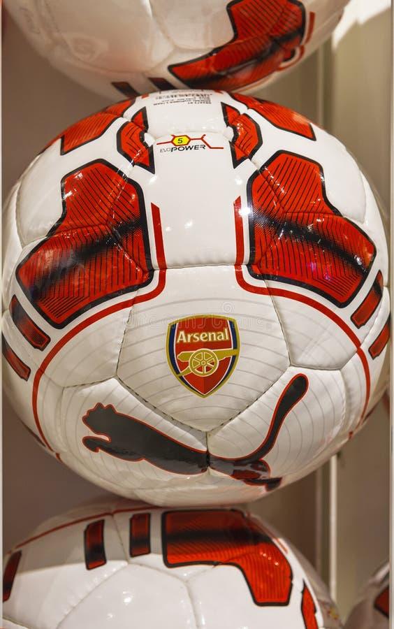 Arsenal balls stock photos