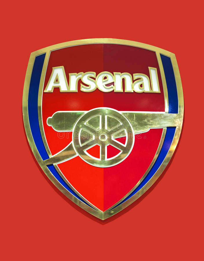 Arsenal Club Emblem stock images
