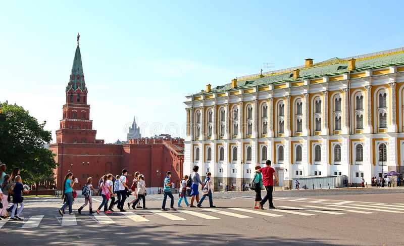Arsenal do Kremlin foto de stock