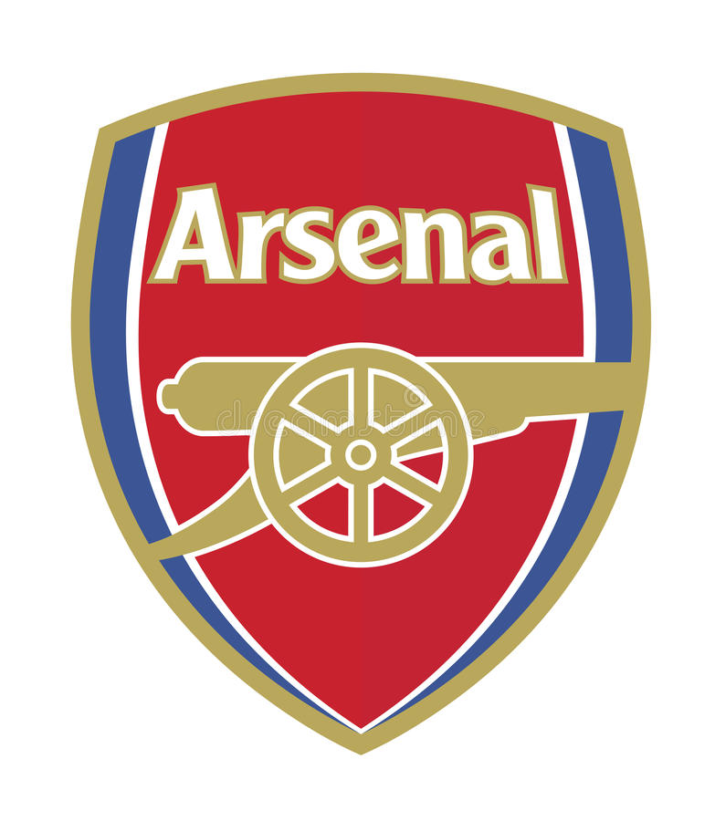 Arsenal F.C. royalty free illustration