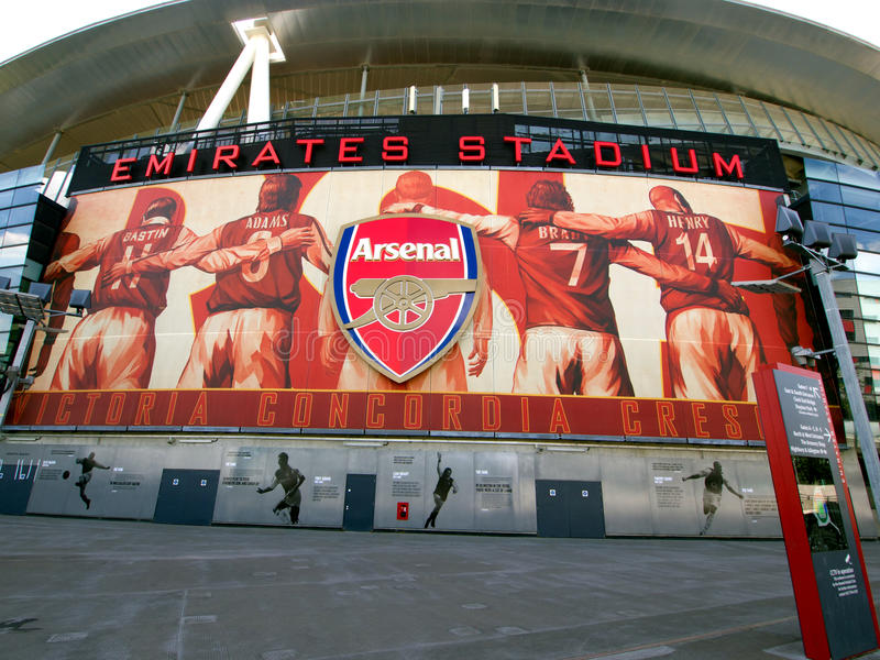 Arsenal Legends - Victory Comes from Harmony royalty free stock photo