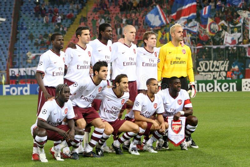 Arsenal Londres fotografia de stock royalty free