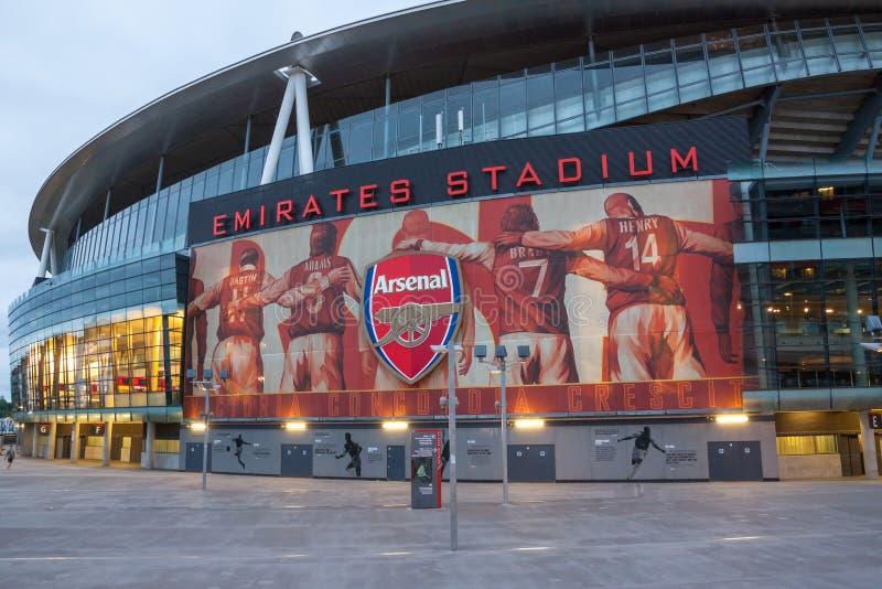 Arsenal Stadium fotografia de stock royalty free