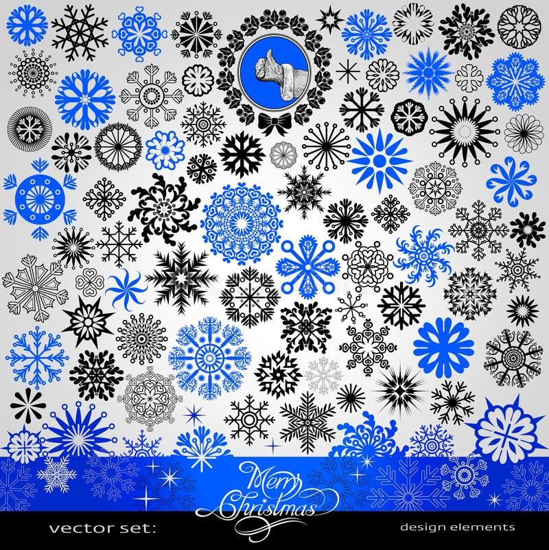 77 artículos - la Navidad y copos de nieve creativos y estrellas del Año Nuevo libre illustration