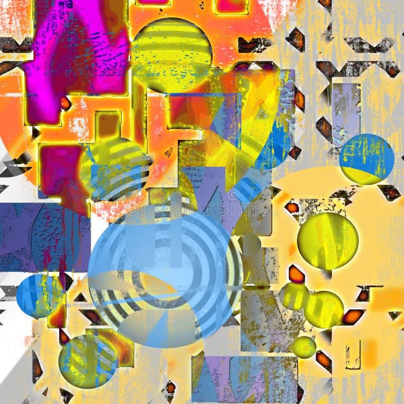 Art abstract background stock illustration